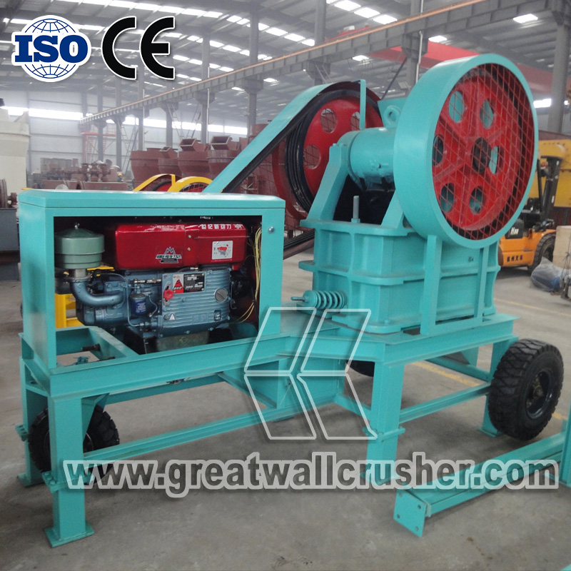 diesel jaw crusher for sale